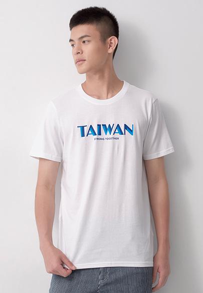 台灣雙色印字T恤